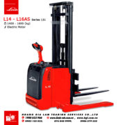 Xe nâng điện pallet stacker LINDE L14 - L16AS