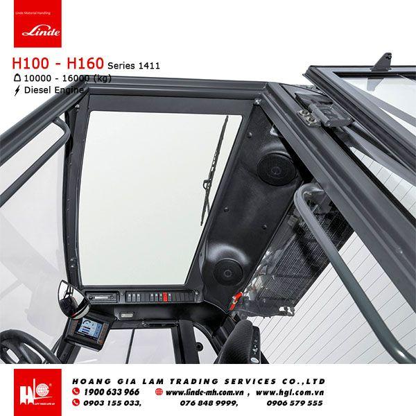 Xe nâng diesel forklift LINDE H100 - H160