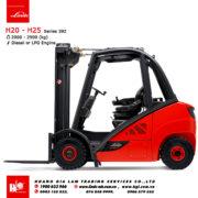 Xe nâng diesel forklift Linde H20 - H25