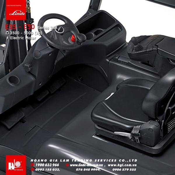 xe nâng điện forklift linde E35 E50 series 388