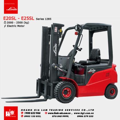 Xe nâng điện forklift LINDE E20SL - E25SL