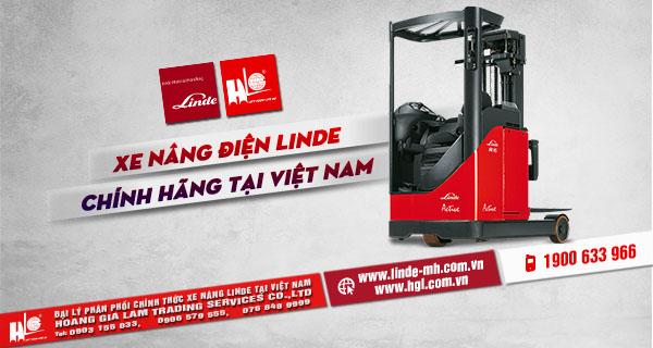 Xe nâng điện Linde chính hãng tại Việt Nam-1