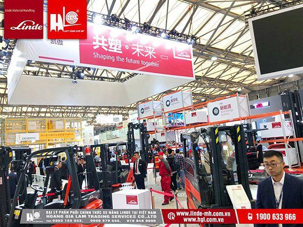 CTY Hoàng Gia Lâm tham dự triển lãm cùng Linde tại Thượng Hải