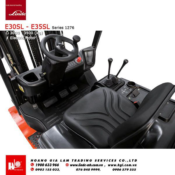 Xe nâng điện forklift LINDE E30SL – E35SL (Series 1286)