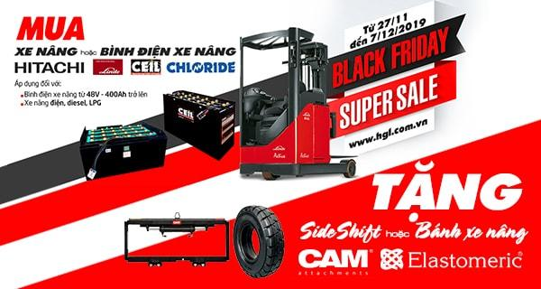Black Friday 2019-Tặng Sideshift CAM