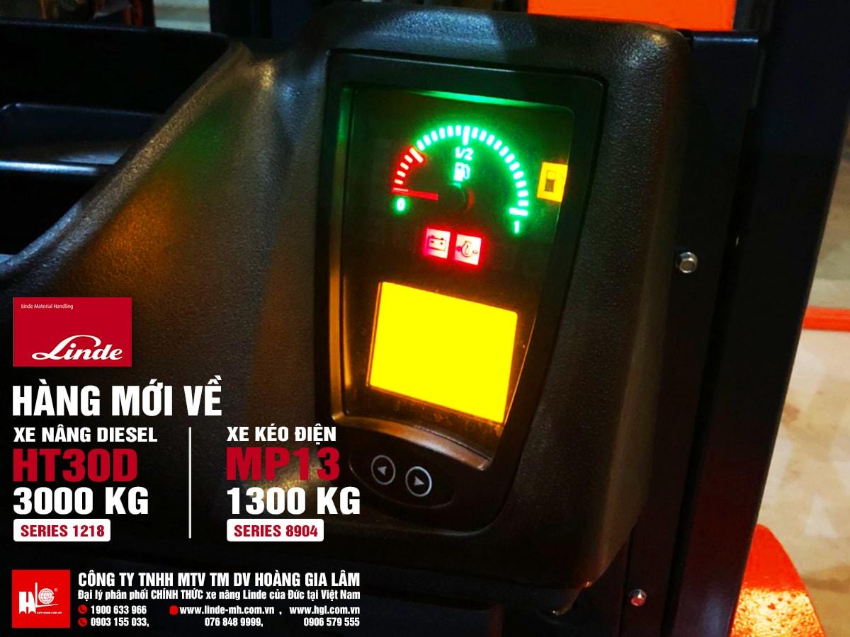 Hàng mới về 1.2020: Xe nâng Linde HT30D, xe kéo Linde MP13