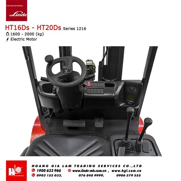 Xe nâng dầu Linde HT16Ds - HT20Ds (Series 1216)