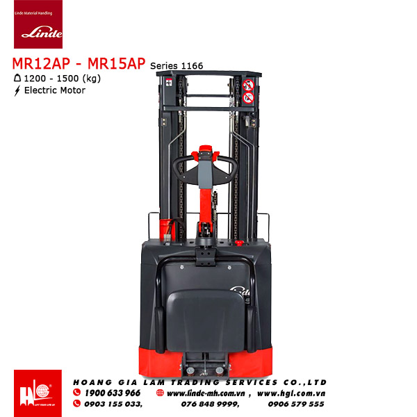 Xe nâng Linde Reach Truck MR12AP - MR15AP