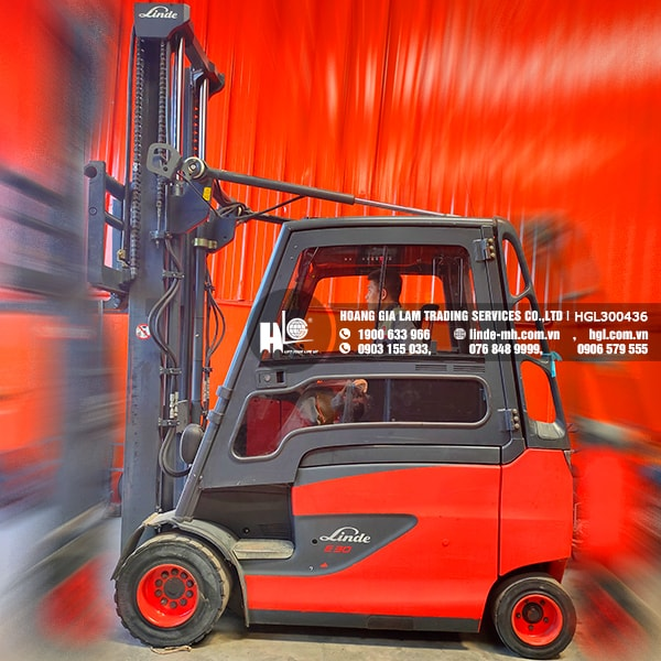 Xe nâng điện Linde E30HL-01/600