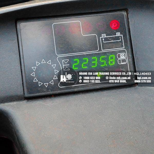 Màn hình hiển thị của xe nâng điện Linde R14