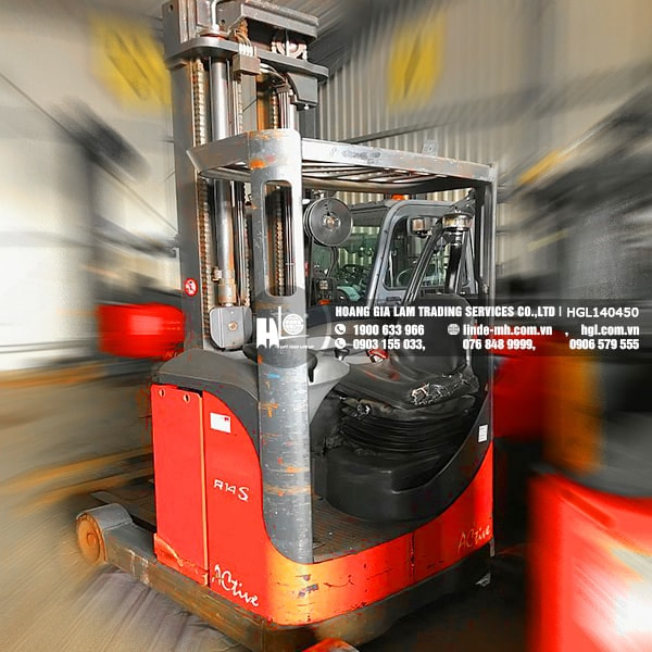 Xe nâng điện Linde R14S-12