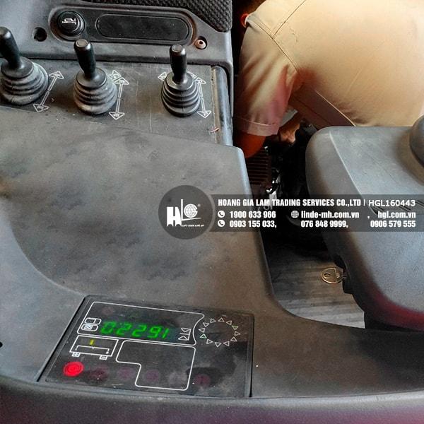 Xe nâng điện Linde R16HD