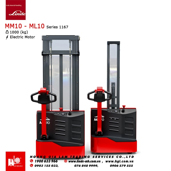 Xe nâng tay cao Linde MM10 - ML10
