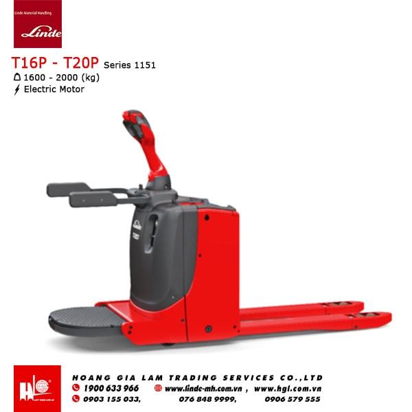 Xe nâng tay Linde T16P - T20P (Series 1151)