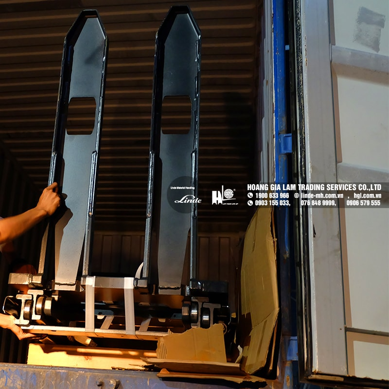 Hàng mới về 7.2020: Xe nâng tay Linde L10, T16 mới 100%