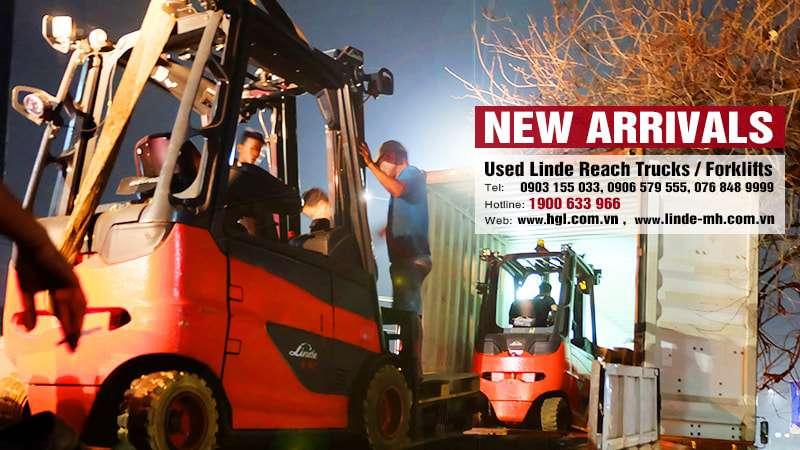 Hàng mới về 9.2020: Container xe nâng Linde (Đức) đã qua sử dụng 1.6 tấn-3 tấn