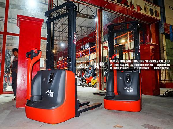 Hàng mới về 11.2020: Container xe nâng Linde L14AP-01, L12, MP13