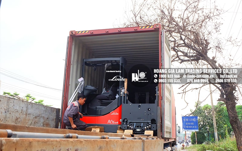 Hàng mới về 2.2021: Container xe nâng Linde R20S, E16C & MT12