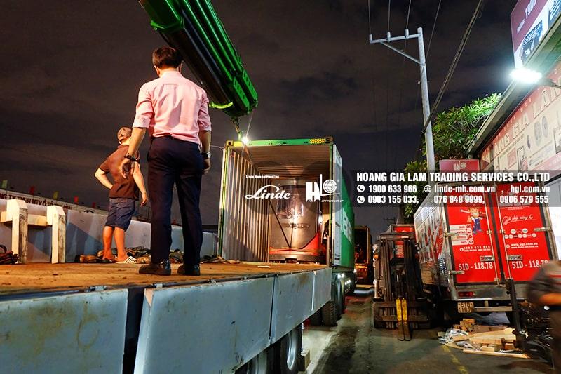 Hàng mới về 3.2021: Container xe nâng Linde 1.4 tấn – 8 tấn