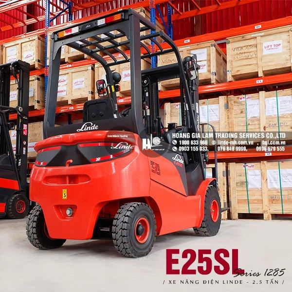 Xe nâng điện 4 bánh Linde E25SL