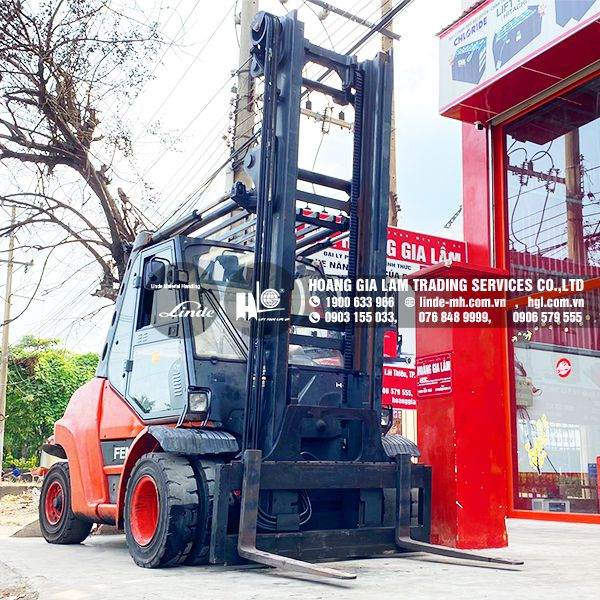 Xe nâng dầu LINDE H80D ( HGL800639)