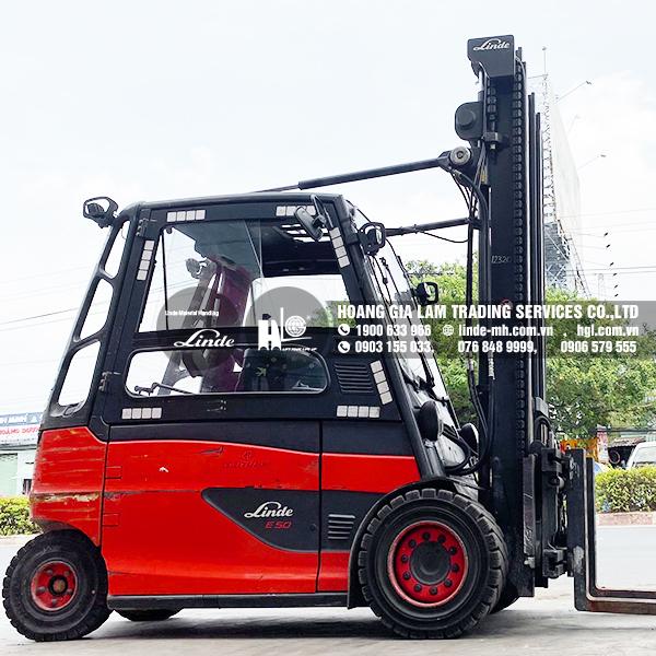 Xe nâng điện LINDE E50HL-01 (HGL500638)