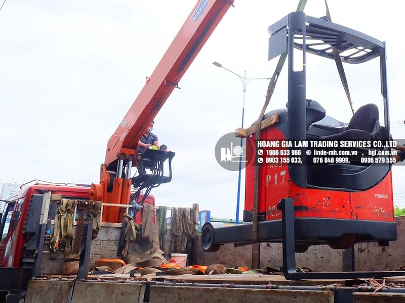 Hàng mới về 8.2021: Container xe nâng Linde 1.2 tấn – 2 tấn