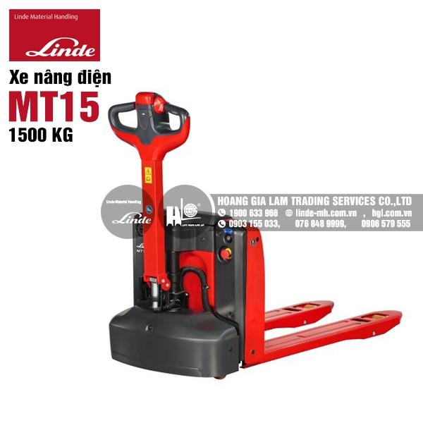 xe nâng tay điện Linde MT15 (Series 1133)